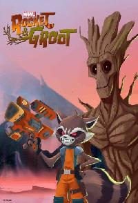 Marvels Rocket And Groot
